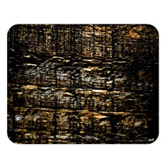 Wood Texture Dark Background Pattern Double Sided Flano Blanket (Large)