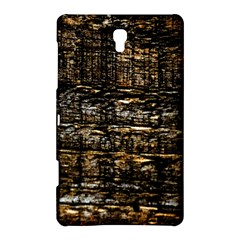Wood Texture Dark Background Pattern Samsung Galaxy Tab S (8 4 ) Hardshell Case