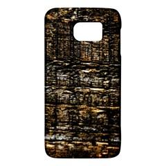 Wood Texture Dark Background Pattern Galaxy S6