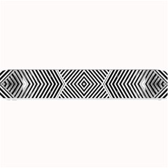 Black And White Line Abstract Small Bar Mats
