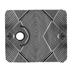 Black And White Line Abstract Galaxy S3 (flip/folio)
