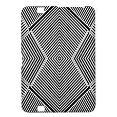 Black And White Line Abstract Kindle Fire Hd 8 9