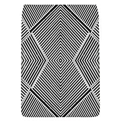Black And White Line Abstract Flap Covers (l)
