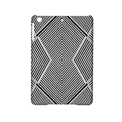 Black And White Line Abstract iPad Mini 2 Hardshell Cases