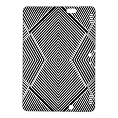 Black And White Line Abstract Kindle Fire Hdx 8 9  Hardshell Case