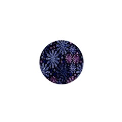 Pixel Pattern Colorful And Glittering Pixelated 1  Mini Buttons