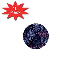 Pixel Pattern Colorful And Glittering Pixelated 1  Mini Magnet (10 Pack)