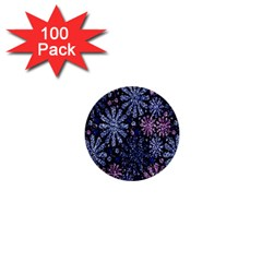 Pixel Pattern Colorful And Glittering Pixelated 1  Mini Buttons (100 Pack)