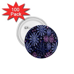 Pixel Pattern Colorful And Glittering Pixelated 1.75  Buttons (100 pack)