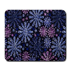 Pixel Pattern Colorful And Glittering Pixelated Large Mousepads