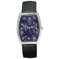 Pixel Pattern Colorful And Glittering Pixelated Barrel Style Metal Watch