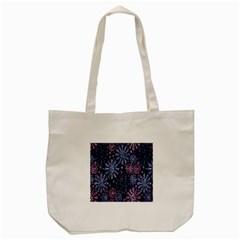 Pixel Pattern Colorful And Glittering Pixelated Tote Bag (Cream)