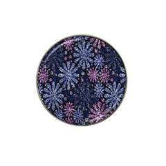Pixel Pattern Colorful And Glittering Pixelated Hat Clip Ball Marker