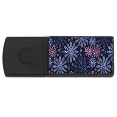 Pixel Pattern Colorful And Glittering Pixelated Usb Flash Drive Rectangular (4 Gb)