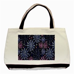Pixel Pattern Colorful And Glittering Pixelated Basic Tote Bag (two Sides)