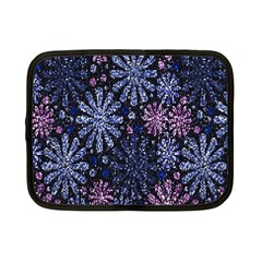 Pixel Pattern Colorful And Glittering Pixelated Netbook Case (Small)