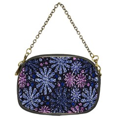 Pixel Pattern Colorful And Glittering Pixelated Chain Purses (Two Sides)