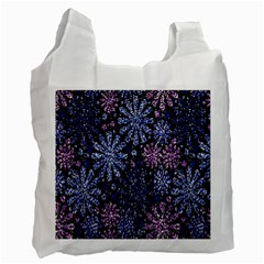 Pixel Pattern Colorful And Glittering Pixelated Recycle Bag (two Side)