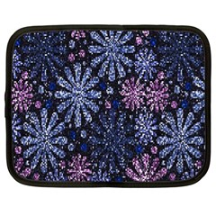 Pixel Pattern Colorful And Glittering Pixelated Netbook Case (xl)