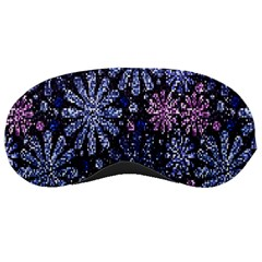 Pixel Pattern Colorful And Glittering Pixelated Sleeping Masks