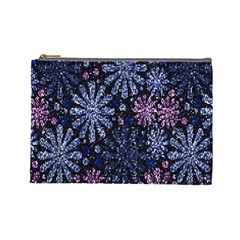 Pixel Pattern Colorful And Glittering Pixelated Cosmetic Bag (large)