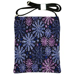 Pixel Pattern Colorful And Glittering Pixelated Shoulder Sling Bags
