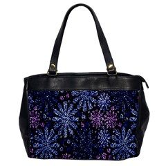 Pixel Pattern Colorful And Glittering Pixelated Office Handbags