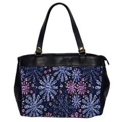 Pixel Pattern Colorful And Glittering Pixelated Office Handbags (2 Sides)