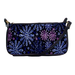 Pixel Pattern Colorful And Glittering Pixelated Shoulder Clutch Bags