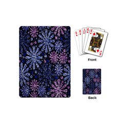 Pixel Pattern Colorful And Glittering Pixelated Playing Cards (Mini)