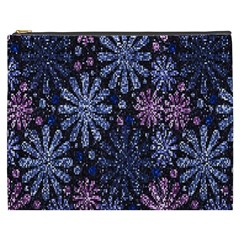Pixel Pattern Colorful And Glittering Pixelated Cosmetic Bag (xxxl)