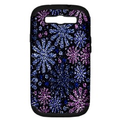 Pixel Pattern Colorful And Glittering Pixelated Samsung Galaxy S Iii Hardshell Case (pc+silicone)