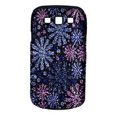 Pixel Pattern Colorful And Glittering Pixelated Samsung Galaxy S III Classic Hardshell Case (PC+Silicone)