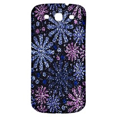 Pixel Pattern Colorful And Glittering Pixelated Samsung Galaxy S3 S III Classic Hardshell Back Case