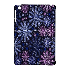 Pixel Pattern Colorful And Glittering Pixelated Apple iPad Mini Hardshell Case (Compatible with Smart Cover)