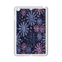 Pixel Pattern Colorful And Glittering Pixelated iPad Mini 2 Enamel Coated Cases