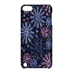 Pixel Pattern Colorful And Glittering Pixelated Apple Ipod Touch 5 Hardshell Case With Stand