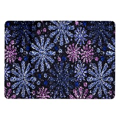 Pixel Pattern Colorful And Glittering Pixelated Samsung Galaxy Tab 10.1  P7500 Flip Case