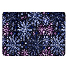 Pixel Pattern Colorful And Glittering Pixelated Samsung Galaxy Tab 8 9  P7300 Flip Case