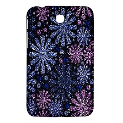 Pixel Pattern Colorful And Glittering Pixelated Samsung Galaxy Tab 3 (7 ) P3200 Hardshell Case