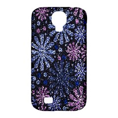 Pixel Pattern Colorful And Glittering Pixelated Samsung Galaxy S4 Classic Hardshell Case (PC+Silicone)