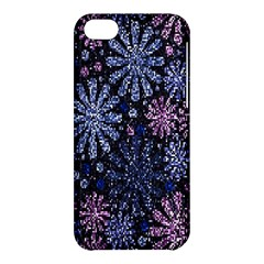 Pixel Pattern Colorful And Glittering Pixelated Apple iPhone 5C Hardshell Case