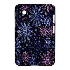 Pixel Pattern Colorful And Glittering Pixelated Samsung Galaxy Tab 2 (7 ) P3100 Hardshell Case