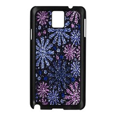 Pixel Pattern Colorful And Glittering Pixelated Samsung Galaxy Note 3 N9005 Case (black)