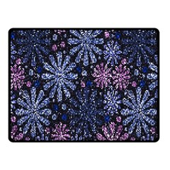 Pixel Pattern Colorful And Glittering Pixelated Double Sided Fleece Blanket (Small)