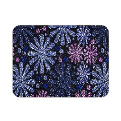 Pixel Pattern Colorful And Glittering Pixelated Double Sided Flano Blanket (mini)