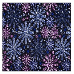 Pixel Pattern Colorful And Glittering Pixelated Large Satin Scarf (Square)