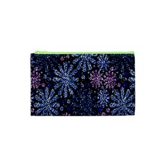 Pixel Pattern Colorful And Glittering Pixelated Cosmetic Bag (XS)