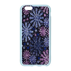 Pixel Pattern Colorful And Glittering Pixelated Apple Seamless iPhone 6/6S Case (Color)