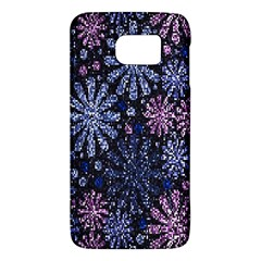 Pixel Pattern Colorful And Glittering Pixelated Galaxy S6